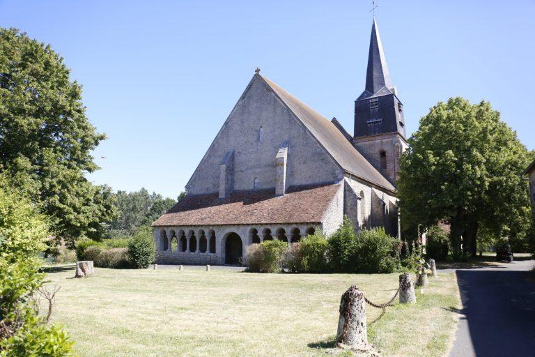 Eglise de Boësses © Toursime Loiret